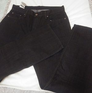 LEVI BLACK REGULAR JEANS